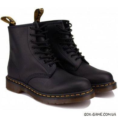Ботинки DR. MARTENS 1460 GREASY LEATHER 11822003  BLACK